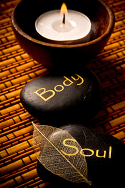 candle and body and soul stones